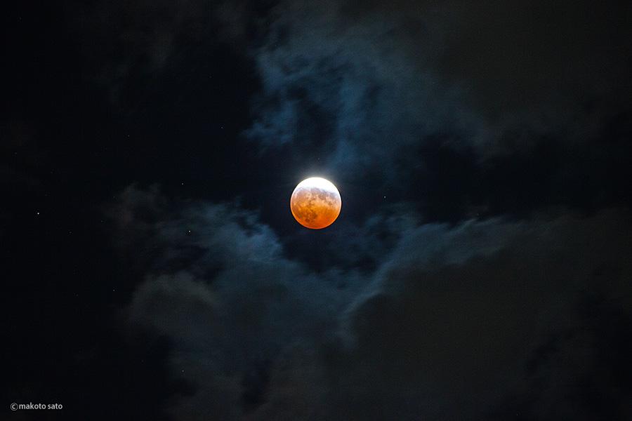 皆既月食(2014.10.8 WED)